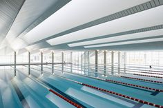 wow...happy swimming! (Swimming pool for Vigo University (Spain)