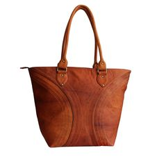 LUST Leather Women's Vintage Leather Handmade Crossbody Tote Bag Brown 17' x 13' Inch ** Quickly view this special  product, click the image