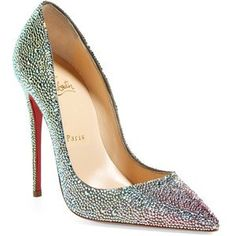 Wedding Shoes Christian Louboutin Strass Shoes by TyyonCreations http://www.sparklecreationsbytyyon.com