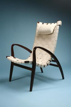 """Grasshopper"". Designed by Bruno Mathsson for Karl Mathsson, Sweden. 1931."