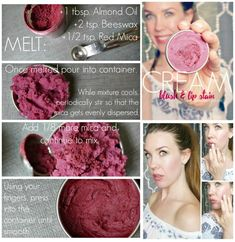 DIY Cream Blush and Lip Stain