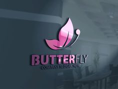 Butterfly Logo by CreativeDezing on @creativemarket