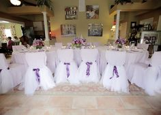 bridal shower centerpieces | The beautiful centerpieces by Signature Floral were so perfect. Using ...