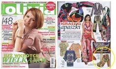 OLIVIA MAGAZINE  www.sequinshoes.pl