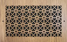 LASER CUT WOOD WALL AND CEILING VENT COVER PATTERN D 4 X 8 - Vent Covers Unlimited
