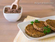 Burger di lenticchie ricetta vegana facile