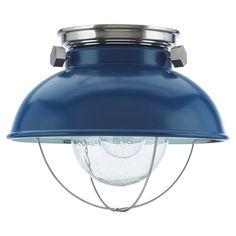 Sea Gull Lighting Blue Outdoor Flush Mount 1-Light Fixture - Overstock™ Shopping - Big Discounts on Sea Gull Lighting Wall Lighting