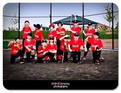 Maybe one day when the kids are in Little League Baseball. Bbaseball pic ideas