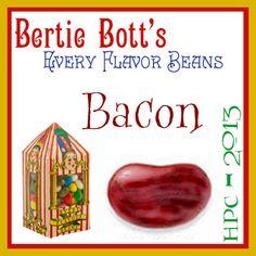 Bertie Bott's Mini Challenge Series - Bacon: Purple Night Necklace & Earrings Set