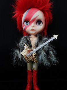 -David Bowie Blythe Doll..