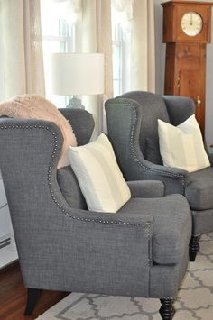 Uniquely shaped chairs are a perfect home accent. HomeDecorators.com ...