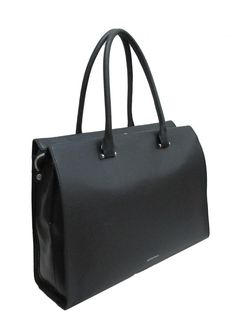 Laptoptasche Damen GiGi Fratelli Black Schultergurt Leder Kate Spade, Bags, Outfits, Fashion, Black Office, Laptop Tote, Leather Cord, Leather Bag, Hook And Loop Fastener