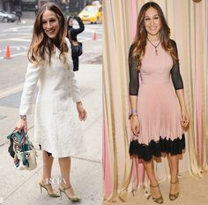 Sarah Jessica Parker In Valentino  & Dolce & Gabbana – SJP Collection Pop Up Shop Opening
