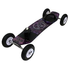 Take part in the amazing sport of mountain boarding with this Colt 90 mountain board. This reworked board is a real blast. The upgraded MBS T1 tires are crafted from a specially formulated high-reboun