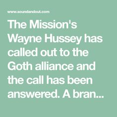 """The Mission's Wayne Hussey has called out to the Goth alliance and the call has been answered. A brand new version of The Mission's 1988 release of """"Tower of Strength"""" from the album Children has spawned to raise money for the front line workers with all proceeds going towards coronavirus related charities. The new gen Andy Rourke, Midge Ure, Plan International, Gary Numan, Line Worker, Siouxsie & The Banshees, All About Eve, Martin Gore, Gothic Rock"""