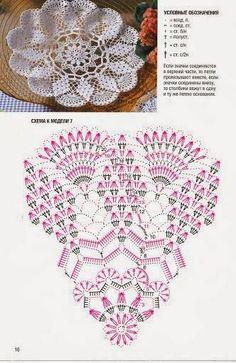 Tkackie Arts w Crochet: Trzy chusteczki z piękną grafiką!