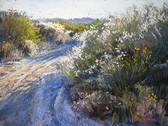 Dry Wash, September by Margi Lucena Pastel ~ 9 x 12