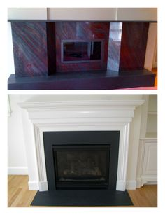 Fireplace Hearth And Surround Absolute Black Granite Project