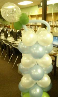 My Baby Pacifier Balloon Column