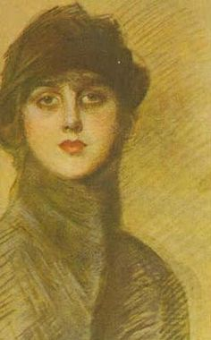 "Gladys Deacon, later Duchess of Marlborough, in a portrait by Paul-César Helleu.      ""If you want to do something, don't tell other people about it, just do it. Other people will always find a reason to try and prevent you."""