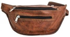 Curtido, Fanny Pack, Natural, Leather, Bags, Accessories, Fashion, Handmade Leather Wallet, Handmade Leather