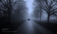 Into the blue mist morning ... by godwithme