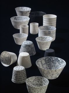 The level of creativity we see around us is simply staggering sometimes, is it not?    Mel Robson ceramics