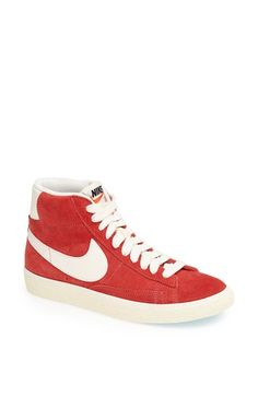 Nike 'Blazer' Vintage High Top Basketball Sneaker (Women) available at #Nordstrom