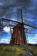 Kållekärrs Windmill,Sweden