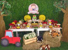 Farm Animal Party, Farm Animal Birthday, Barnyard Party, Farm Birthday, Farm Party, Birthday Party Themes, Western Parties, Farm Theme, Diy Crafts