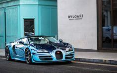 Baby Blue / Sapphire Blue Bugatti Veyron Super Sport in Marbella. Bugatti Veyron, Bugatti Cars, Volkswagen, Power Cars, Latest Cars, Super Sport, Sport Cars, Luxury Cars, Cool Cars