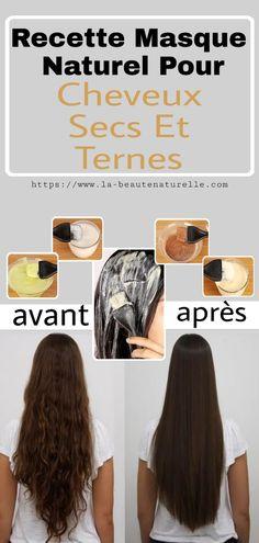Recette Masque Naturel Pour Cheveux Secs Et Ternes #recette #masques #cheveux #secs #ternes