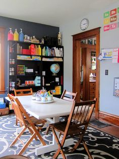 Joyfully Weary: An Updated Tour of Our Schoolroom.