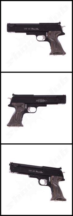 Weihrauch HW 45 Black Star Luftpistole Kal. 4,5mm   - Weitere Informationen und Produkte findetihr auf www.shoot-club.de -    #pistol #Pistole #shootclub