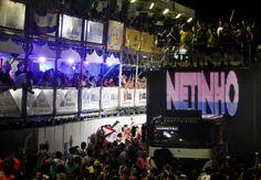 Netinho no Trio Elétrico do seu Bloco Bikoka no Carnatal em dezembro de 2012. Em Natal/RN.