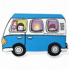 Promotional Bus Sticky Note Pad, Book Marker with Windows Cover, Used as Children Stationeries Book Markers, Office Stationery, Office Art, Custom Bags, Sticky Notes, Promotion, Stationeries, Van, Tote Bag