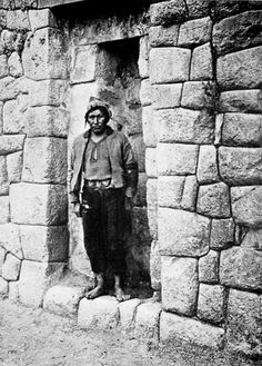 Quechua Indian, Cuzco, Peru, 1900s Underwood & Underwood