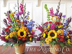 artificial floral arrangements for cemetery - Google Search