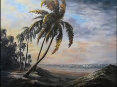 Paint with Kevin Hill - Sunlit Palm - YouTube