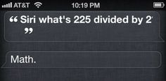 OK, Thanks Siri