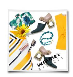 """""""Summer Brights"""" by kari-c ❤ liked on Polyvore featuring Maticevski, Marni, Narciso Rodriguez, Valentin Magro and summerbrights"""