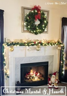 My do it yourself days of christmas fireplace christmas mantel christmas mantel and hearth solutioingenieria Gallery