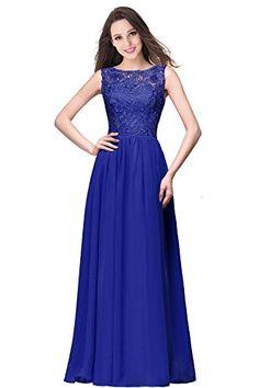 BoatNeck Lace Applique Sleeveless A Line Chiffon Prom Gow... https://www.amazon.com/dp/B06XP2CGTP/ref=cm_sw_r_pi_dp_x_zXM2zb9AVH2W3