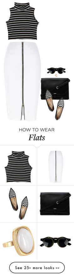 """""""Venice"""" by miki006 on Polyvore featuring River Island, 3.1 Phillip Lim, Nicholas Kirkwood and Vintage"""