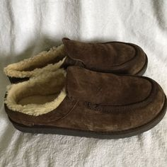 9980f6b684627 UGG AUSTRALIA MEN TASMAN SLIPPERS DARK BROWN SIZE 11 US/44.5 EUR SN 5646  #fashion #clothing #shoes #accessories #womensshoes #slippers (ebay link)