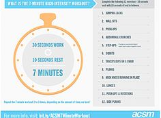 No time to exercise? The 7-min workout is here!