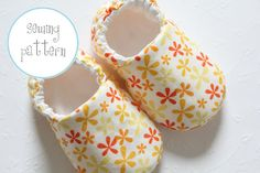 Baby Shoes - Slippers pattern on Craftsy.com
