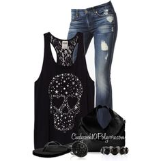I would rock this outfit