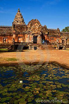 Phanom Rung Historical Park (Palace ruins at Khao Prasat Phnom Rung), Buri Ram, Thailand.