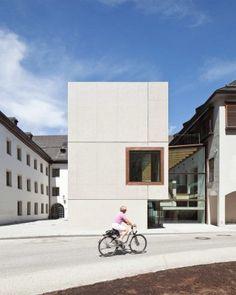 Schulerweiterung in Rattenberg/A - Beton - Bildung - baunetzwissen.de